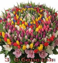Новини > Вітаємо любих наших Жіночок зі святом 8 березня! / 08.03.2013