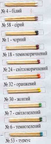 Головки сірників - 2