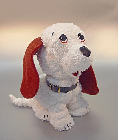 Собака білий